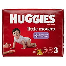 Huggies Little Movers Diapers - Step 3, 25 Each