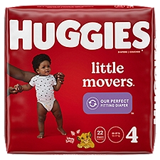 Huggies Little Movers Diapers - Step 7, 22 Each