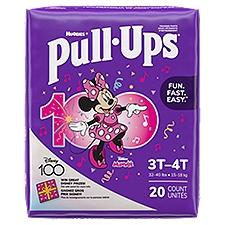 Huggies Pull-Ups Jumbo Girls 3T-4T, 20 Each