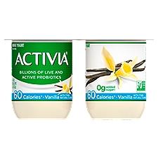 Activia Yogurt - Nonfat Vanilla, 16 Ounce