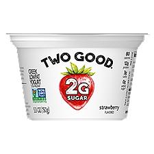 Light & Fit Two Good Strawberry Greek Yogurt, 5.3 Ounce