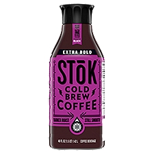 Stok Extra Bold Un-Sweet Black Cold Brew Coffee Beverag, 48 Fluid ounce