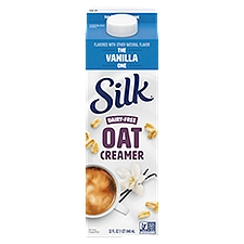 Silk Oat Yeah Oatmilk Creamer - Vanilla, 32 Fluid ounce
