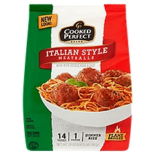 Cooked Perfect Meatballs - Italian, 14 Ounce