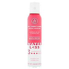 Waterless Dry Conditioner, Instant Moisture, 3.6 Ounce