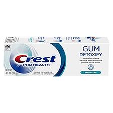 Crest Pro Health Gum Detoxify Deep Clean Toothpaste, 4.1 Ounce
