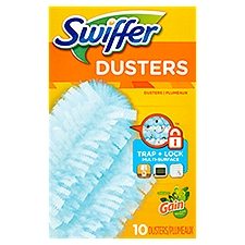 Swiffer 180 Dusters Multi Surface Refills - Gain scent, 10 Each