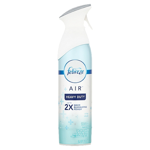 Doesn't just mask, cleans away odors with OdorClear Technology. Febreze AIR (also know as Febreze Air Effects) cleans away odors and freshens with a light, fresh scent that's never overpowering.