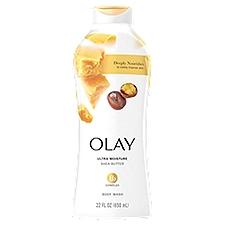 Olay Ultra Moisture Shea Butter Body Wash, 22 Fluid ounce