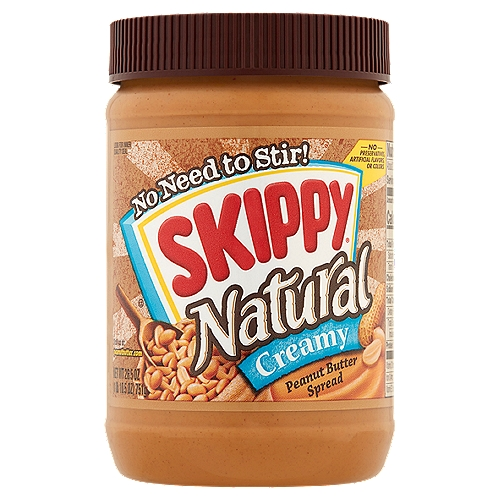 No Need to Stir!. Good Source of Vitamin E. Gluten Free. Kosher. No preservatives, artificial flavors, or colors.