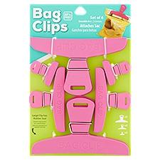 Lami Bag Clips, 6 Each