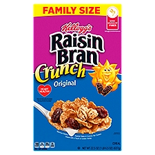 Raisin Bran Crunch Cereal, 22.5 Ounce