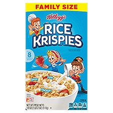 Rice Krispies Cereal, 18 Ounce