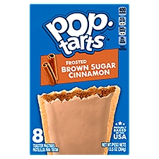 Pop-Tarts Toaster Pastries, Frosted Brown Sugar Cinnamon, 13.5 Ounce