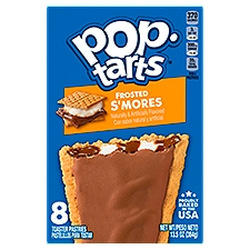 Kellogg's Pop-Tarts Kellogg's Pop-Tarts Frosted Smores 13.5oz, 13.5 Ounce