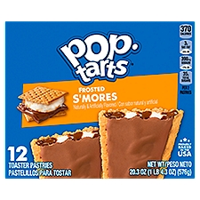 Pop-Tarts Toaster Pastries Frosted S'Mores, 12 Each