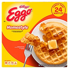Kellogg's Eggo Waffles - Homestyle, 29.6 Ounce
