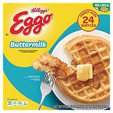 Kellogg's Eggo Waffles - Buttermilk, 29.6 Ounce