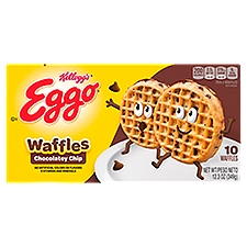 Kellogg's Eggo Waffles - Chocolate Chip, 12.3 Ounce