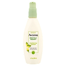 AVEENO Positively Radiant Brightening Facial Cleanser, 6.7 Ounce