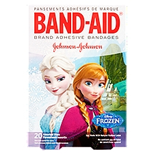 BAND-AID BRAND Adhesive Bandages Featuring Disney Frozen, 20 Each
