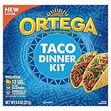 Ortega Taco Dinner Kit, 283 Gram