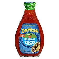 Ortega Original Mild Taco Sauce, 16 Ounce