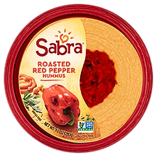 Sabra Roasted Red Pepper Hummus, 10 Ounce