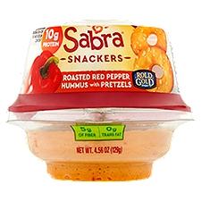 Sabra Hummus with Pretzel Crisps To Go, 4.56 Ounce
