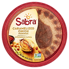 Sabra Hummus - Go Mediterranean Carmelized Onion, 10 Ounce