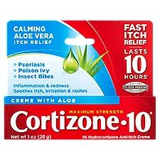 Cortizone-10 Anti-Itch Creme - Maximum Strength, 1 Ounce