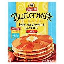 ShopRite Complete Pancake and Waffle Mix - Buttermilk, 32 Ounce