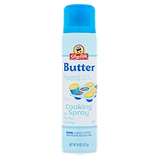 ShopRite Cooking Spray - Butter Flavor, 8 Ounce