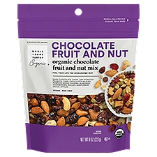 Wholesome Pantry Organic Chocolate Fruit and Nut Mix, 8 Ounce