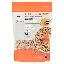 Wholesome Pantry Organic Oats & Honey Granola, 12 Ounce