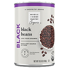 Good source of protein. Excellent source of fiber. USDA organic. Per 1/2 Cup Serving: 120 calories; 0 g sat fat (0% DV); 130 mg sodium (5% DV); 0 g sugars.