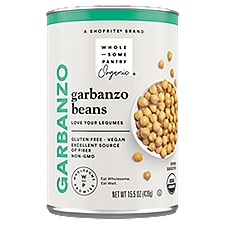 Wholesome Pantry Organic Garbanzo Beans, 15.5 Ounce