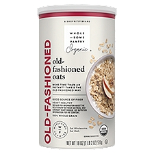Wholesome Pantry Organic Oven Toasted Oats - Old Fashioned, 18 Ounce