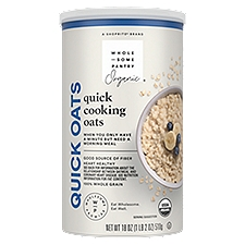 Wholesome Pantry Organic Oven Toasted Quick Oats, 18 Ounce