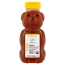 Wholesome Pantry Organic Honey Bear, 12 Ounce