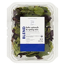 Wholesome Pantry Organic Baby Spinach & Spring Mix, 5 Ounce