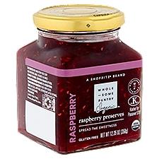 Wholesome Pantry Organic Raspberry Preserves Jam, 12.35 Ounce