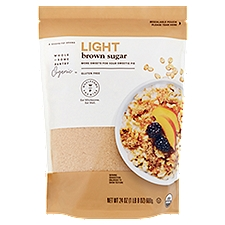 Wholesome Pantry Brown Sugar Light, 24 Ounce