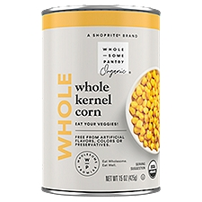 Wholesome Pantry Organic Whole Kernel Corn, 15 Ounce