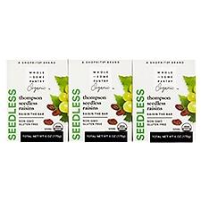 Wholesome Pantry Organic Seedless Raisins, 6 ct, 6 Ounce