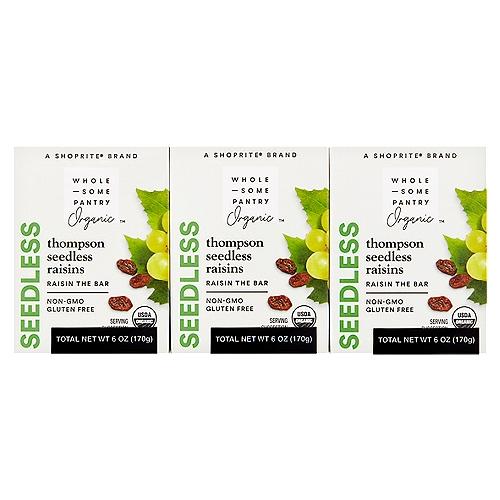 6-1oz individual packages. A fat free food. A cholesterol free food. USDA Organic.  (6 oz)