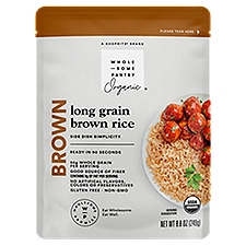 Wholesome Pantry Organic Brown Rice, 8.8 Ounce