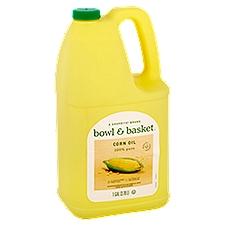Bowl & Basket Corn Oil 100% Pure, 1 Gallon