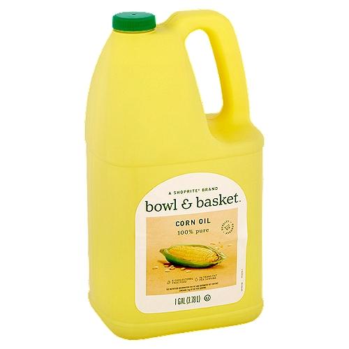 Bowl & Basket 100% Pure Corn Oil, 1 gal
