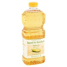Bowl & Basket Corn Oil 100% Pure, 48 Fluid ounce